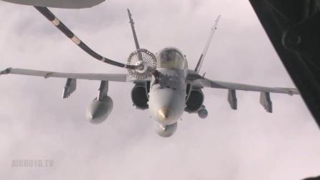 F-18 空中加油视频
