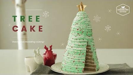 【喵博搬运】【食用系列】教你做一个可以吃的圣诞树~圣诞树蛋糕(´・ω・`)