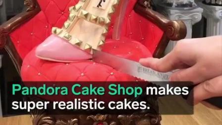美女烘焙师教你做艺术蛋糕, 好看又好吃, 真是人美手巧!