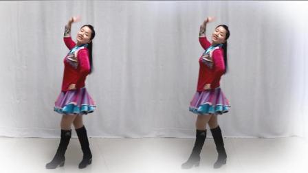 热门广场舞大全 朵妹广场舞《草原不寂寞》草原的姑娘美丽的花朵