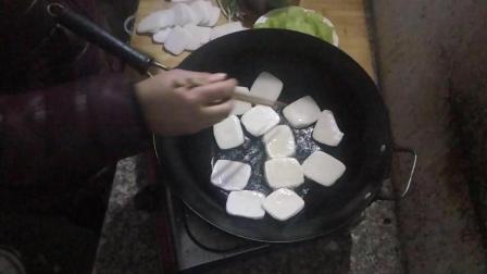 嵊州特产年糕的做法 吃法 美食小吃视频