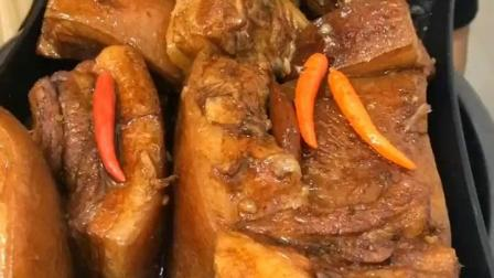 东北大哥爱吃肉, 还是自己做的大块肉吃的舒坦!