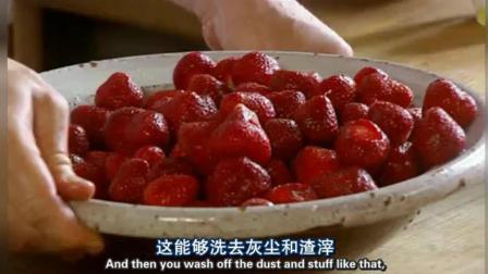 米饭布丁加热草莓果酱 一道人人都能做的传统英式甜点