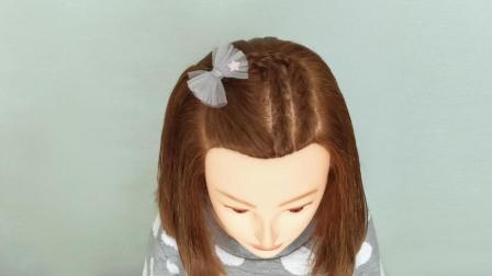 怎样绘给小孩扎蜈蚣辫 小女孩好看的发型短发