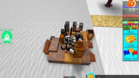 面面解说Roblox虚拟世界 海贼王大冒险! 突破阻碍冲向大海