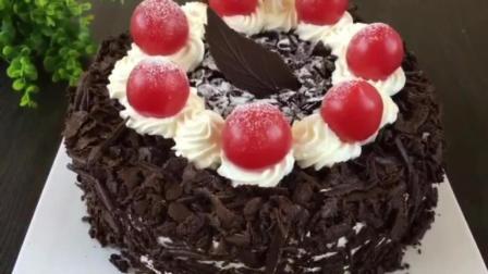 烘焙基础 彩虹蛋糕的做法 糕点西点蛋糕培训学校