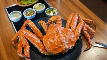 2000元吃这只帝王蟹值了, 尝试了最过瘾的吃法!