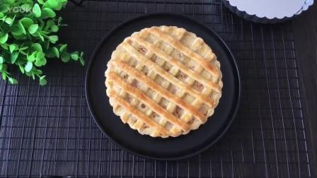 君之烘焙教程 网格蜜桃派的制作方法tx0 烘焙面包教程视频
