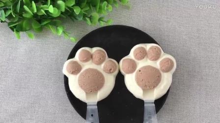 快手烘焙视频教程 小熊掌雪糕的制作方法bb0 烘焙多肉教程视频