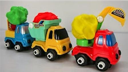 遥控挖掘机工程车 童男孩电动汽车玩具车 挖土机动画片 挖掘机工作视频 1250