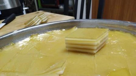 椰汁千层糕做法——手残DIY美食记