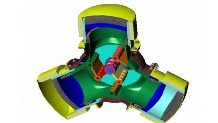 直观的机械原理, 这样的三缸发动机真罕见, 涨见识了