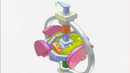 直观的机械原理, 这样的震动装置到底有什么用呢, 看不懂了