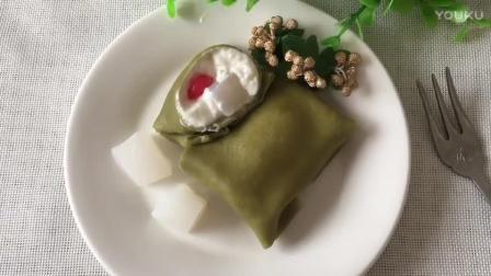 蛋糕烘焙教学视频 椰子抹茶(班戟)热香饼的制作方法lx0 烘焙马卡龙的做法视频教程