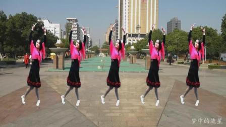 梦中的流星广场舞: 《这条路上我们一起走》 新编基督教舞蹈   编舞: 晓茹   舞蹈: 晓茹