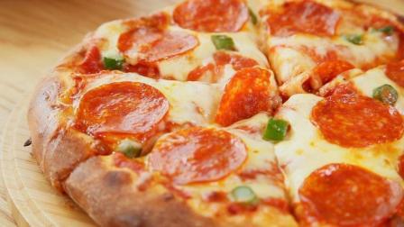 披萨的简单做法, 比必胜客的披萨还好吃, 2分钟学会做披萨