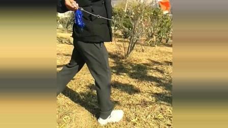 中国传统功夫, 鹤形拳传人, 看着很威猛有力道!
