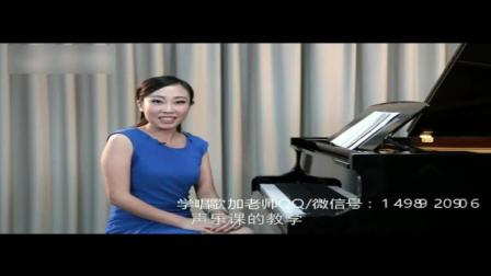 唱歌技巧和发声方法_学唱歌培训班_声乐美声唱法基本发声练习
