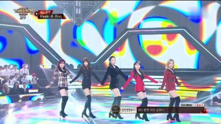 Red Velvet - Peek-A-Boo(2017MBC歌谣大祭典)