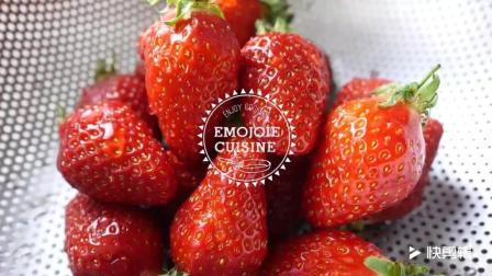 草莓冻芝士蛋糕, 冬天和春天的完美碰撞!