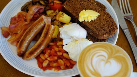 呆滴厨房 英式大早餐 圆满的西式早餐