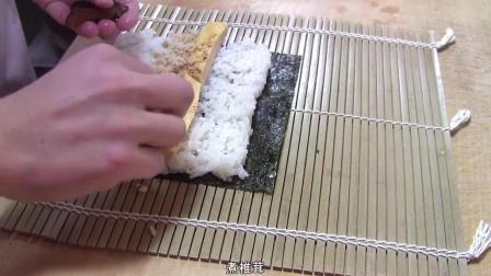 5分钟学会日式紫菜包饭, 铁火卷、河童卷、太卷