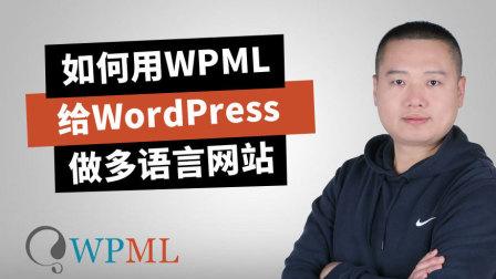 WPML需要什么配置,我的主机能安装吗?