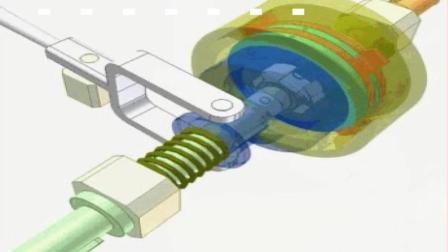 直观的机械原理, 这是一个设计巧妙的摩擦离合器, 你看懂了吗