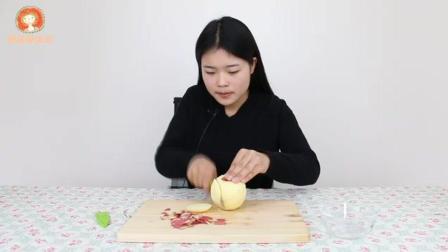 孩子不喜欢吃水果怎么办? 教你自制香甜苹果泥, 好吃又营养