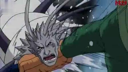 火影忍者: 迈特凯打伤干柿鬼鲛, 鬼鲛准备逃走!