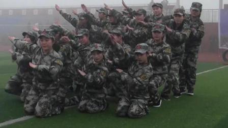 郎溪县中房幼儿园舞蹈《迷彩梦》