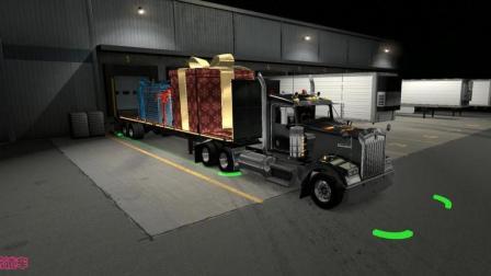 美国卡车模拟 (肯沃斯w900)
