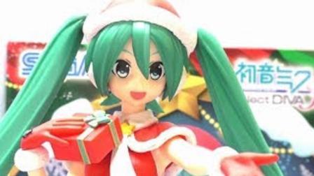 日本ToyHappy评测  初音未来 圣诞节手办