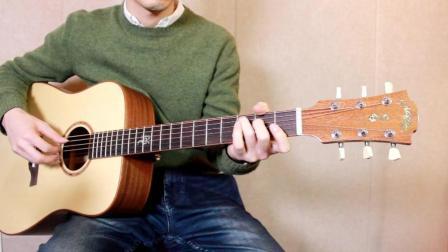 靠谱吉他蔡宁弹唱《枯藤老树昏鸦》使用magic麦杰克sd100吉他