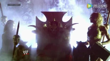 WWE HHH第30届摔跤狂热大赛震撼出场