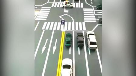 十字路口掉头一定要知道规则