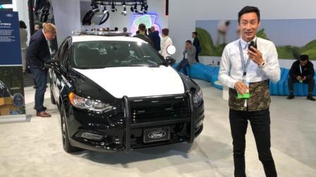 美国警车原来是这样的! 袁启聪LA车展之福特警车-大家车言论出品