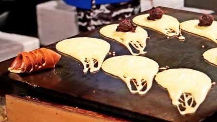 台湾街头甜品: 脆皮卷饼、可丽饼以及彩虹煎饼, 总有一款你想吃!