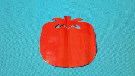 剪纸小课堂651: 柿子 儿童剪纸教程大全