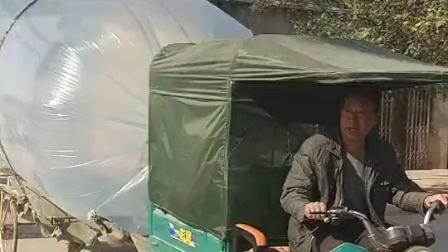 村民用塑料袋运输液化石油气, 真的不会破, 真的不会漏气?