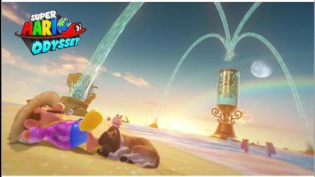黑桐谷歌【超级马力奥 奥德赛】 硬币全收集 海之国