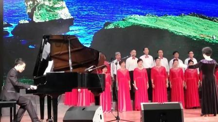 张俊秋原创歌曲音乐会 我为合唱歌曲《草原之春》钢琴伴奏. 17.12.31