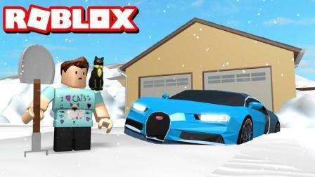 【Roblox铲雪大作战】寻找魔法企鹅! 探秘冰雪王国! 小格解说 乐高小游戏