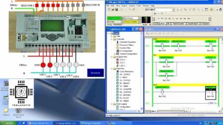 PLC的编程过程 PLC编程互锁