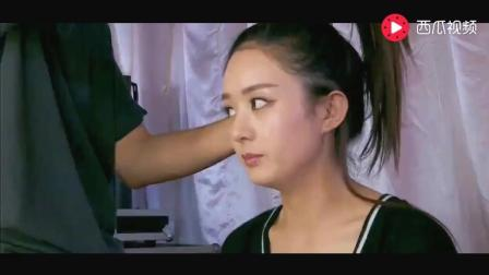赵丽颖不喜欢化妆, 每次化妆都心情不好, 化妆师都看不下去