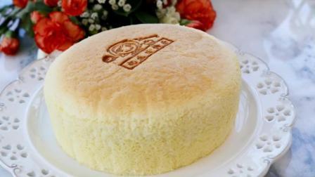 新手必学, 香草海绵蛋糕, 超松软海绵蛋糕做法
