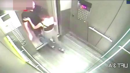 不要忘了电梯里是有监控的, 情侣还是收敛点吧