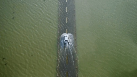 中国最美水下公路, 一年只出现两次, 它就在中国江西
