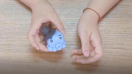 可爱萌物, 超轻黏土小章鱼手工视频教程
