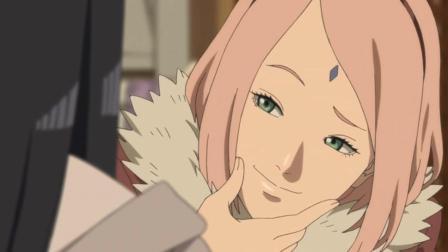 火影忍者: 雏田嫉妒送礼物给鸣人的女孩们, 还是很可爱的